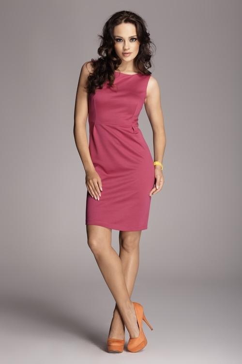 Dámské šaty FIGL M079 pink