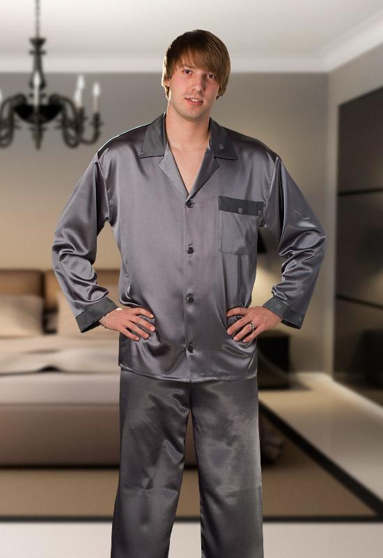 Pánské saténové pyžamo Terykon - Pluto