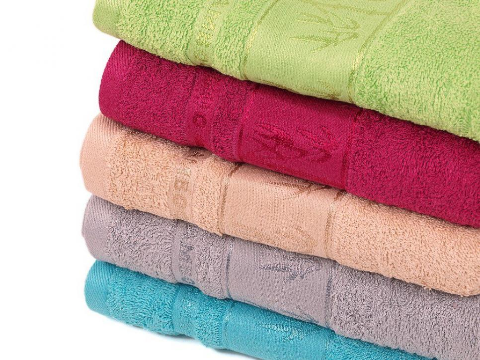 Bambusové ručníky a osušky Asie