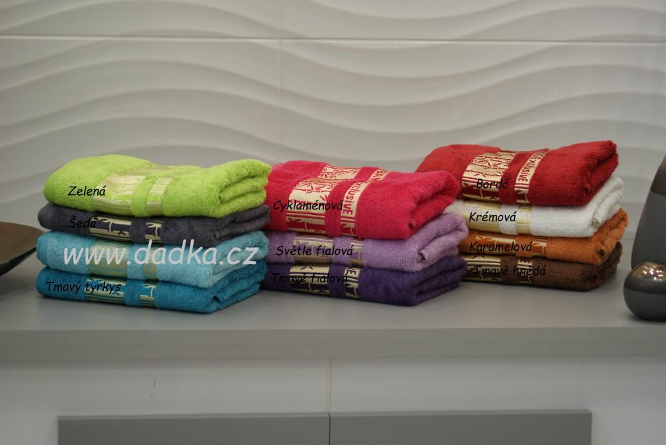 Bambusový ručník a osuška Exclusive 420 g/m2