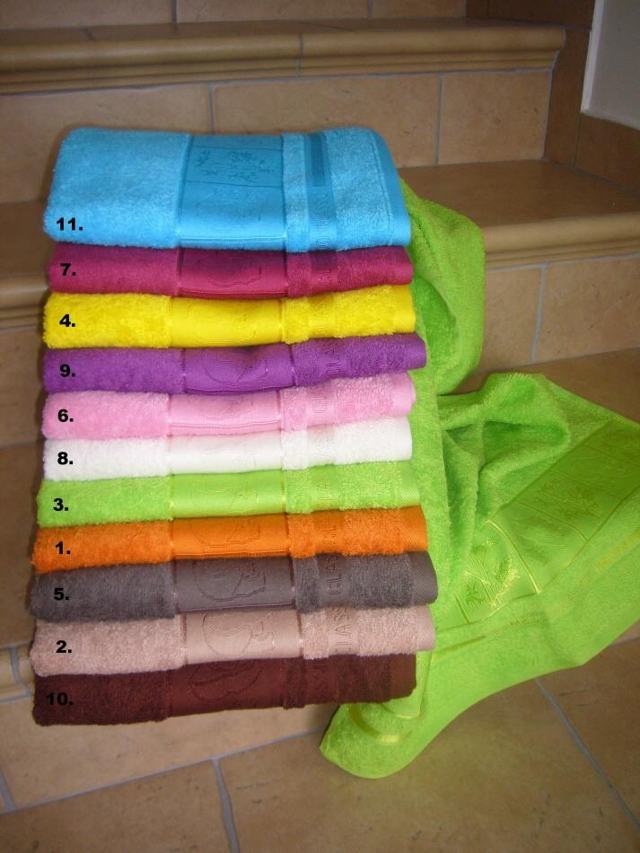 Bambusový ručník PANDA 50/100 cm