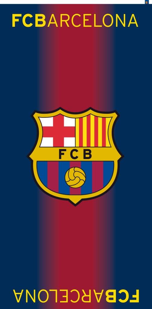 Bavlněná osuška DADKA FC Barcelona - FCB 75x150 cm