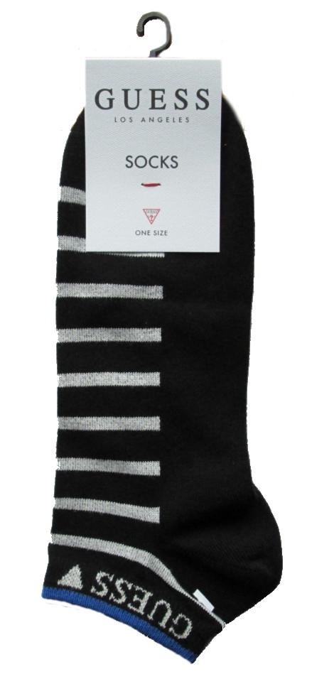 Bavlněné ponožky Guess U84Y03 černé