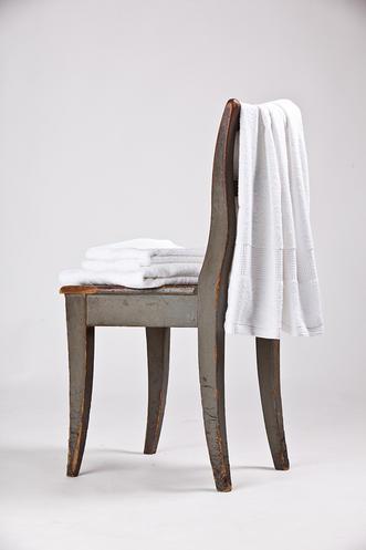Bavlněný ručník a osuška Interimex BR-5852 bílá