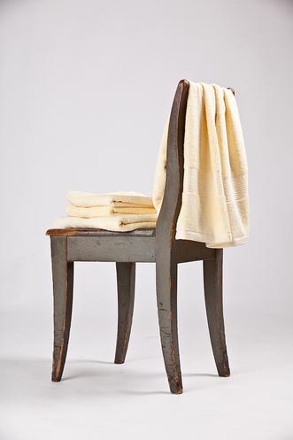 Bavlněný ručník a osuška Interimex BR-5852 žlutý