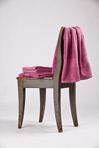 Bavlněný ručník Interimex BR-5852 růžový