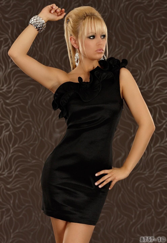 Černé společenské šaty Redial Q-8757