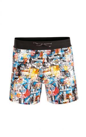 Chlapecké plavky boxerky Litex 57607 tisk