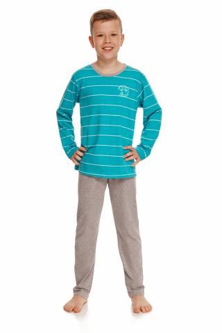 Chlapecké pyžamo Taro 2622 Harry tyrkys