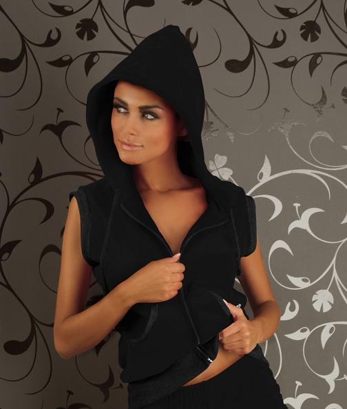 Dámská blůzka Miran P032 black