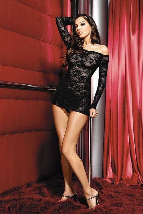 Dámská erotická košilka Anais Gianna black