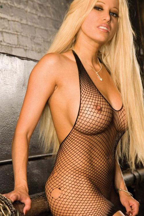 Dámská erotická košilka Hustler Lingerie 200HU-X1005 Bodystocking