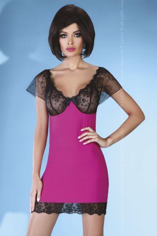Dámská erotická košilka Livia Corsetti Adonisa pink