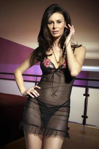 Dámská erotická košilka Miran M-847