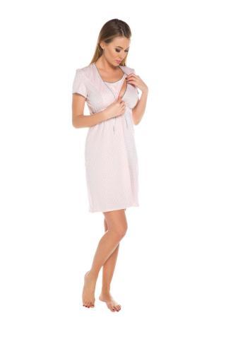 Dámská kojící košile Italian Fashion Felicita apricot
