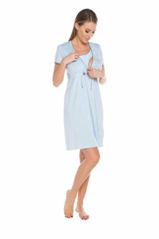 Dámská kojící košile Italian Fashion Felicita modrá