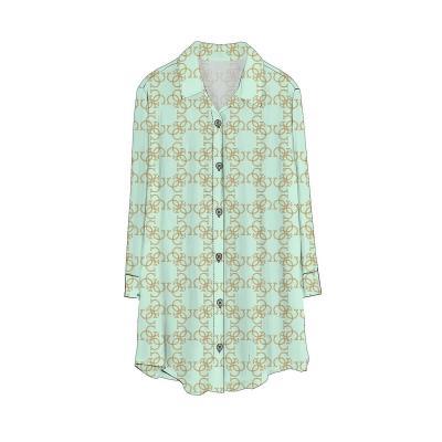 Dámská košile Guess 02H01 zelená