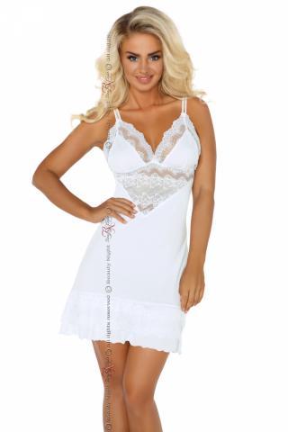 Dámská košilka Beauty night Fashion Petra bílá
