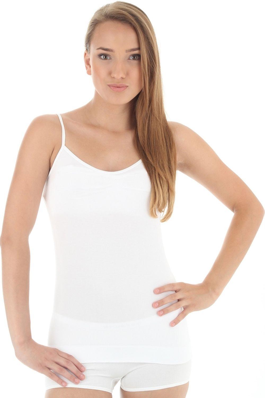 Dámská košilka Brubeck CM 00210 Camisole bílá