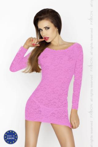 Dámská košilka Passion Yolanda chemise růžová