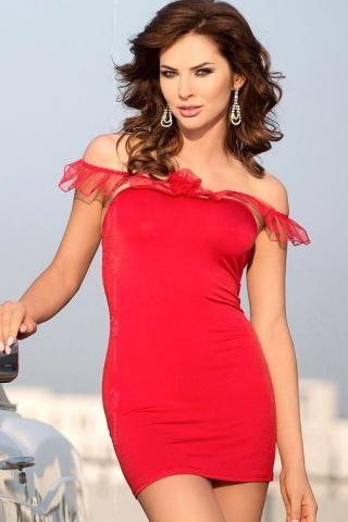 Dámská košilka Softline collection Adeline red