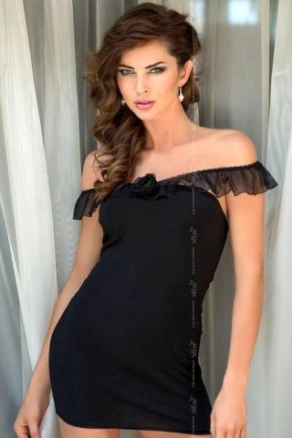 Dámská košilka Softlnie collection Adeline black