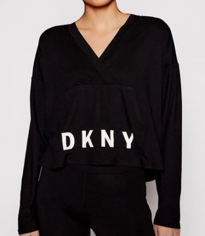 Dámská mikina DKNY YI2022471 s kapucí