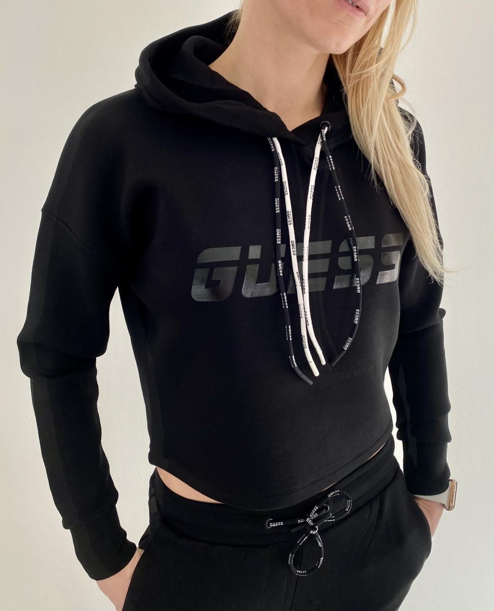 Dámská mikina Guess O1GA48 černá