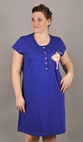 Dámská nadměrná noční košile Vienetta Secret Medvěd Cutie