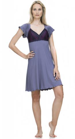 Dámská noční košile Follia Camilla mauve