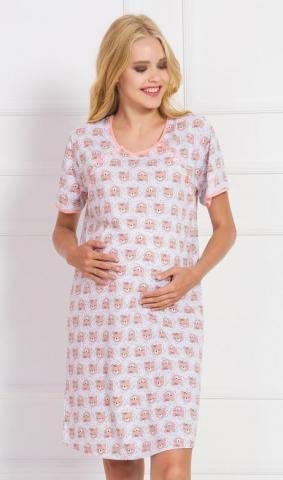 Dámská noční košile mateřská Vienetta Secret Medvídci