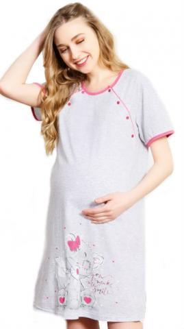 Dámská noční košile mateřská Vienetta Secret Malý tygr