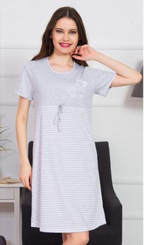 Dámská noční košile s krátkým rukávem Amélie