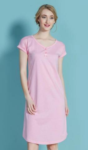 Dámská noční košile s krátkým rukávem Vienetta Secret Jarmila