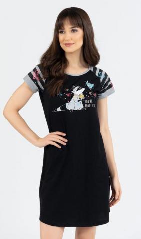 Dámská noční košile Vienetta Secret Jezevec