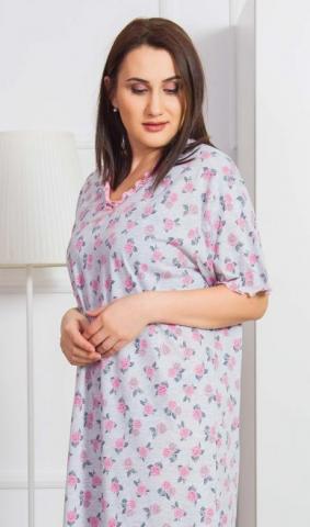 Dámská noční košile Vienetta Secret Róza
