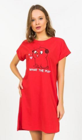 Dámská noční košile Vienetta Secret Štěně