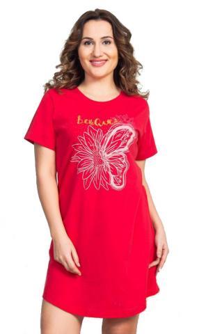 Dámská noční košile s krátkým rukávem Vienetta Secret Adélka