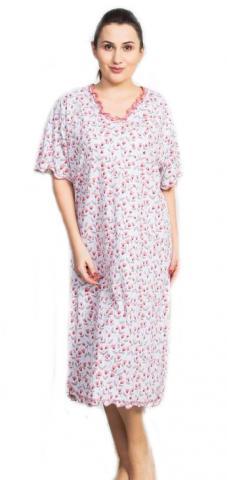 Dámská noční košile s krátkým rukávem Vienetta Secret Jasmína