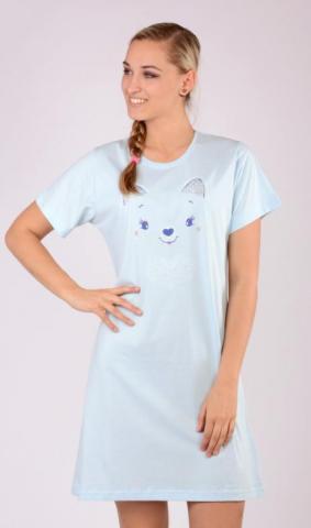 Dámská noční košile s krátkým rukávem Vienetta Secret Miláček