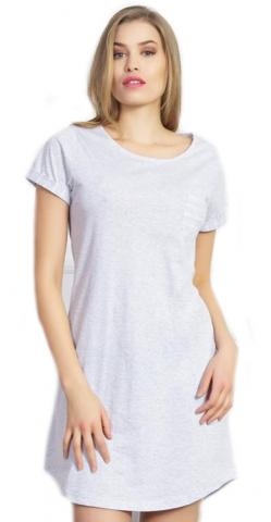 Dámská noční košile s krátkým rukávem Vienetta Secret Silvie
