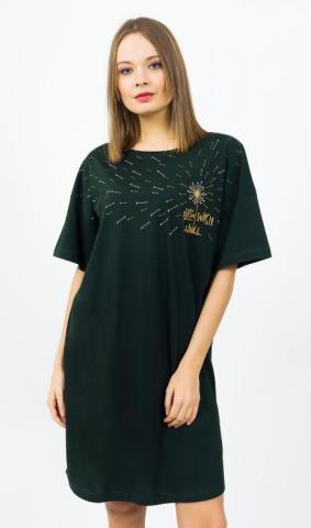 Dámská noční košile s krátkým rukávem Vienetta Secret Wish
