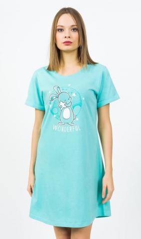 Dámská noční košile s krátkým rukávem Vienetta Secret Wonderful