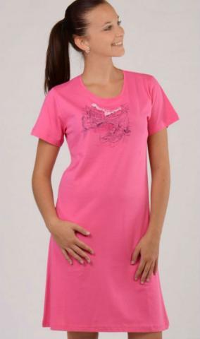 Dámská noční košile Vienetta Secret Benátky růžová
