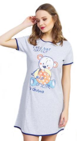 Dámská noční košile Vienetta Secret Malý méďa