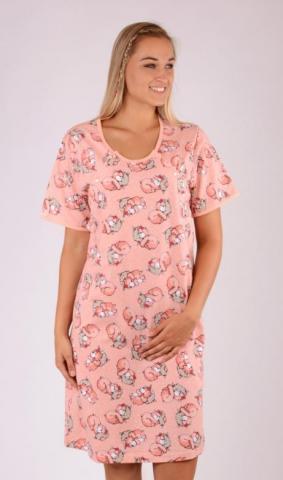 Dámská noční košile Vienetta Secret Méďa s polštářem - mateřská