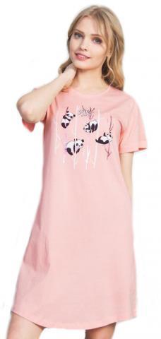 Dámská noční košile Vienetta Secret Pandy