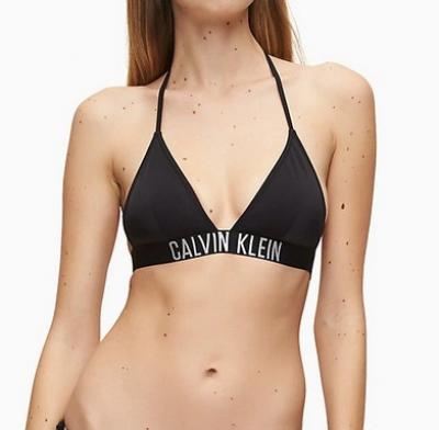 Dámská plavková podprsenka Calvin Klein KW00883 černá