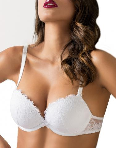 Dámská super push-up podprsenka Síélei 2468 Wonder Lace