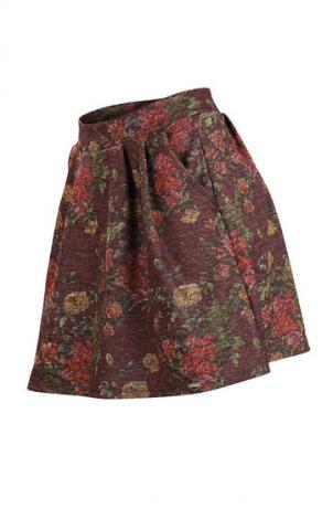 Dámská teplá sukně Litex 60031